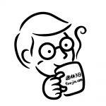 メガネ×コーヒー